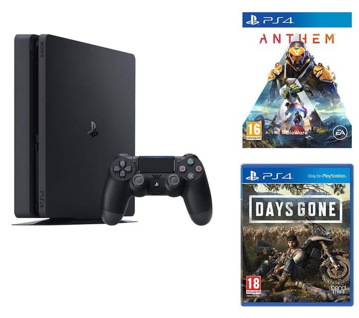 SONY PlayStation 4, Days Gone & Anthem Bundle - 500 GB Only £249