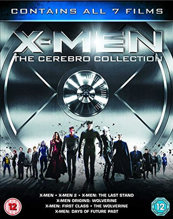 X-Men Franchise - the Cerebro Collection 7 Films on Blu-Ray