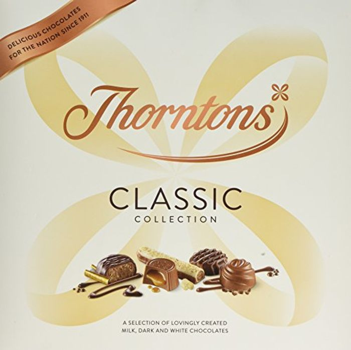 462g Box of Thorntons Classic Chocolates £7 Del with Prime for Fathers Day
