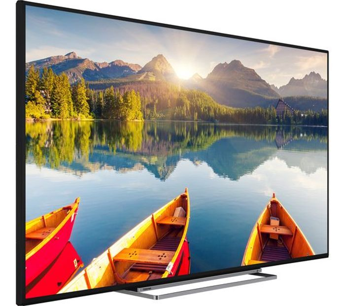 """*SAVE £60* TOSHIBA 55"""" Smart Ultra HD HDR LED 4K TV Freeview HD Freeview Play"""