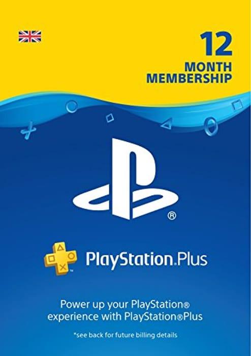 PlayStation plus 12 Month Membership