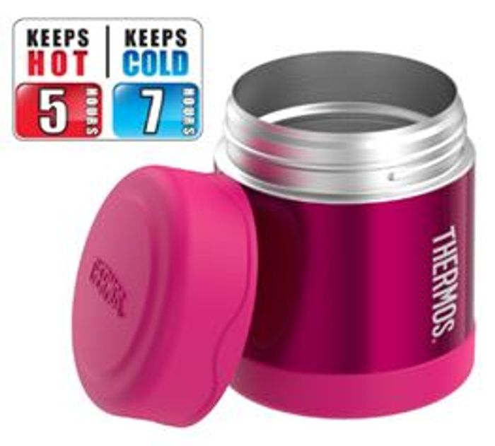 PRICE DROP! save £7 - Thermos FUNtainer Food Flask, Pink, 290 Ml