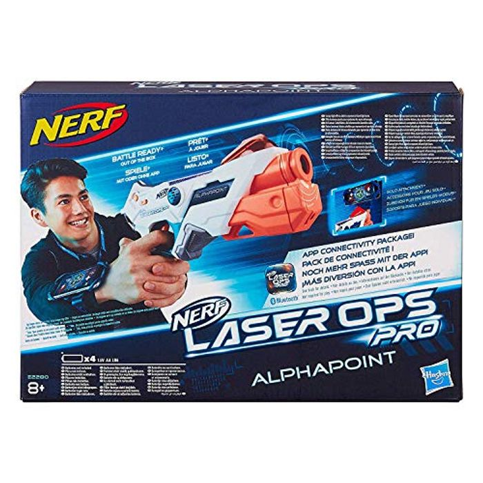 BETTER THAN 1/2 PRICE! Nerf Laser Ops Pro AlphaPoint ***4.5 STARS***
