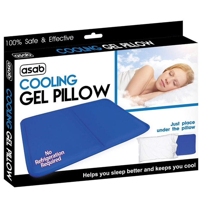 Cooling Gel Pillow for Relief of Migraine
