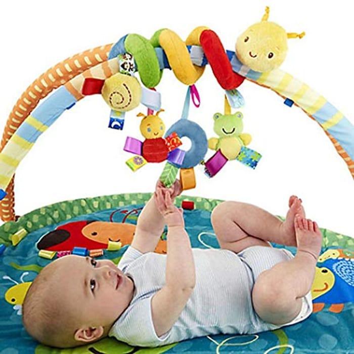 Yiyioi New Kids Infant Baby Girls Boys Cartoon Shape Wrap around Bed Doll Soft