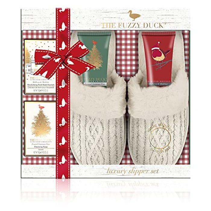 Baylis & Harding Fuzzy Duck Winter Wonderland Luxury Slipper Gift Set