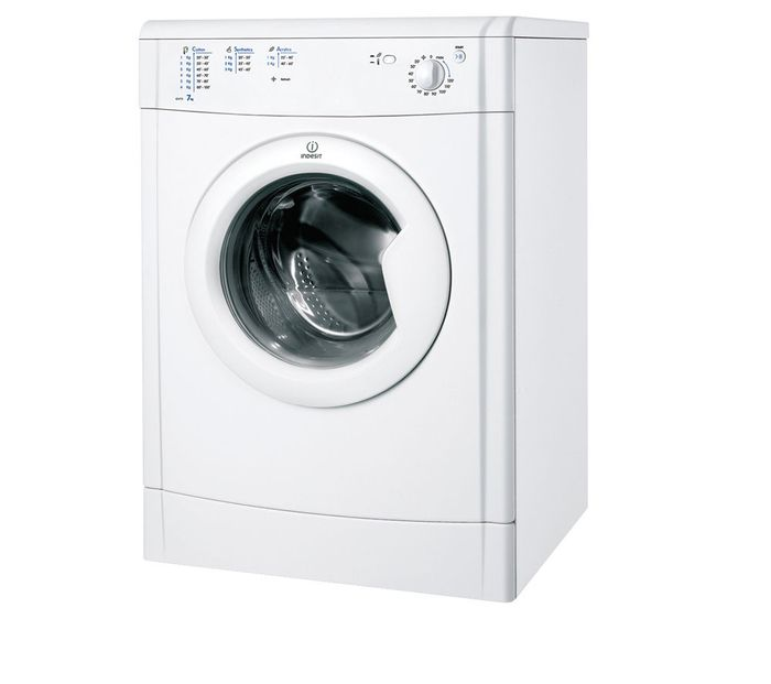 INDESIT Ecotime Vented Tumble Dryer - White