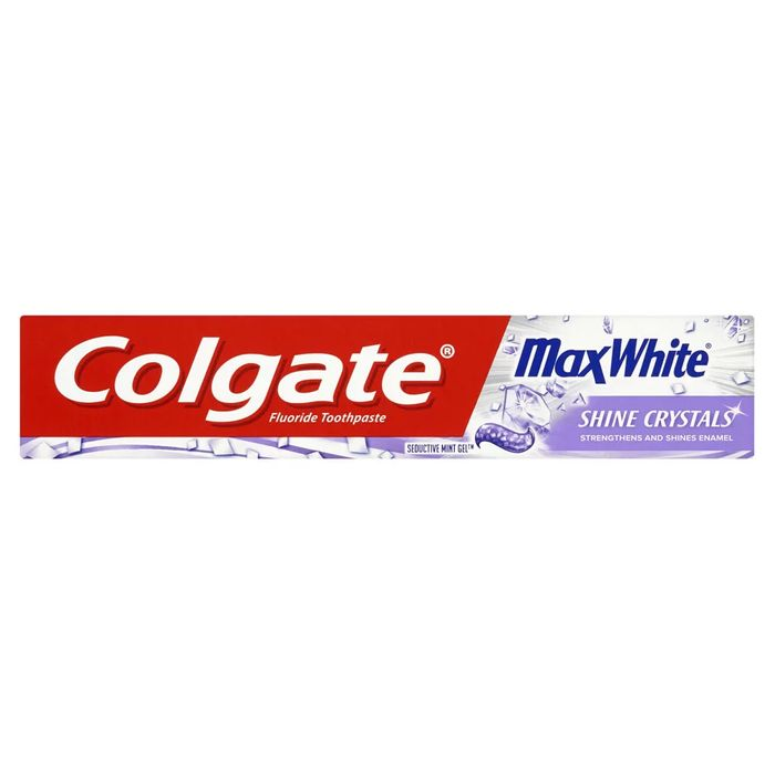 Colgate Max White Shine Crystals Toothpaste 75ml