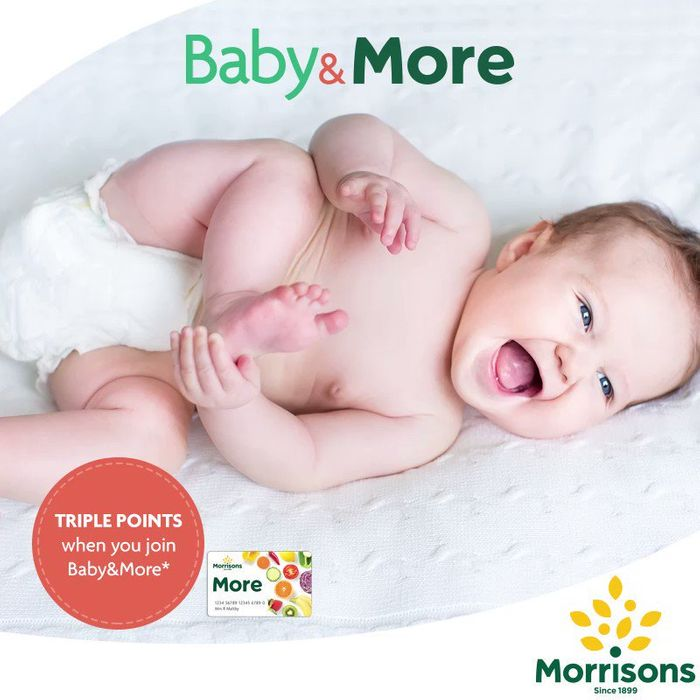 Introducing, Baby & More - Freebies Discounts & Offers from Morrisons