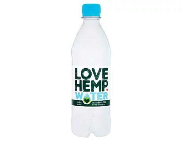 Love Hemp Spring Water 500ml
