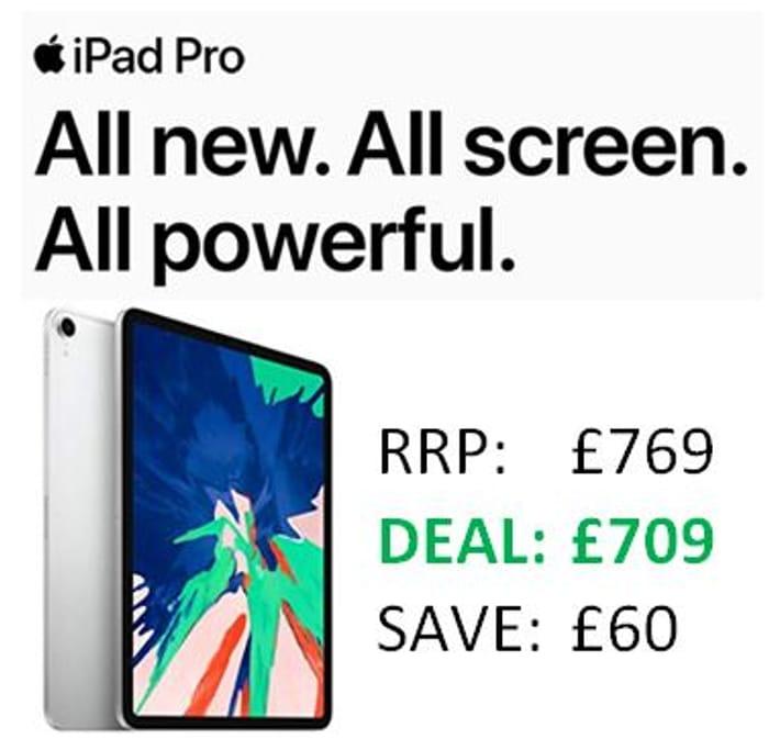 CHEAPEST PRICE - Apple iPad Pro (11-Inch, Wi-Fi, 64GB) - Silver (Latest Model)