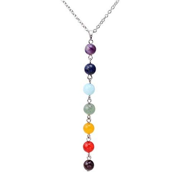 Faliya 7 Chakra Gemstones Necklace
