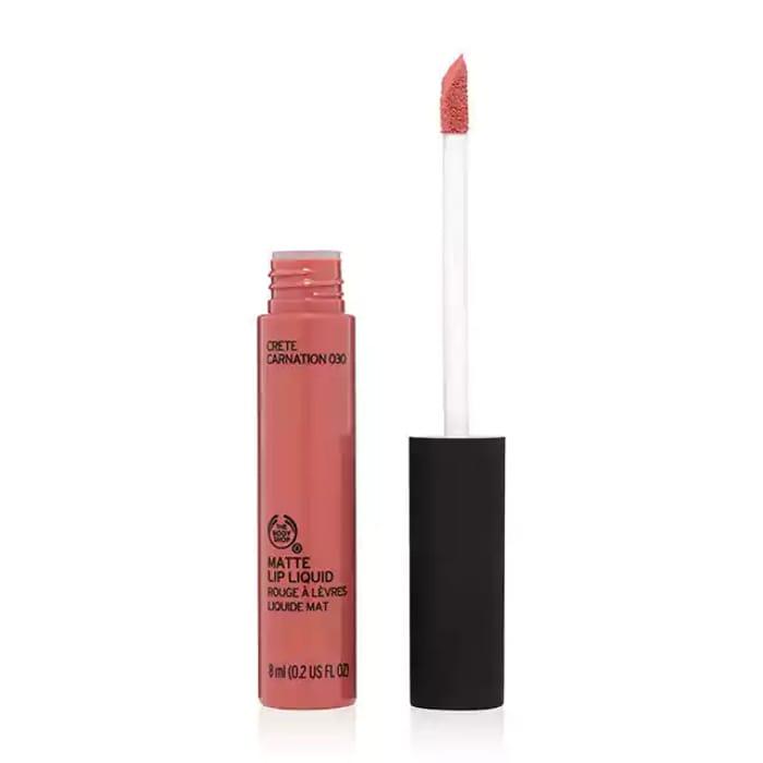 The Body Shop Matte Lip Liquid £3 (Was £6) in Cali Gerbera Colour