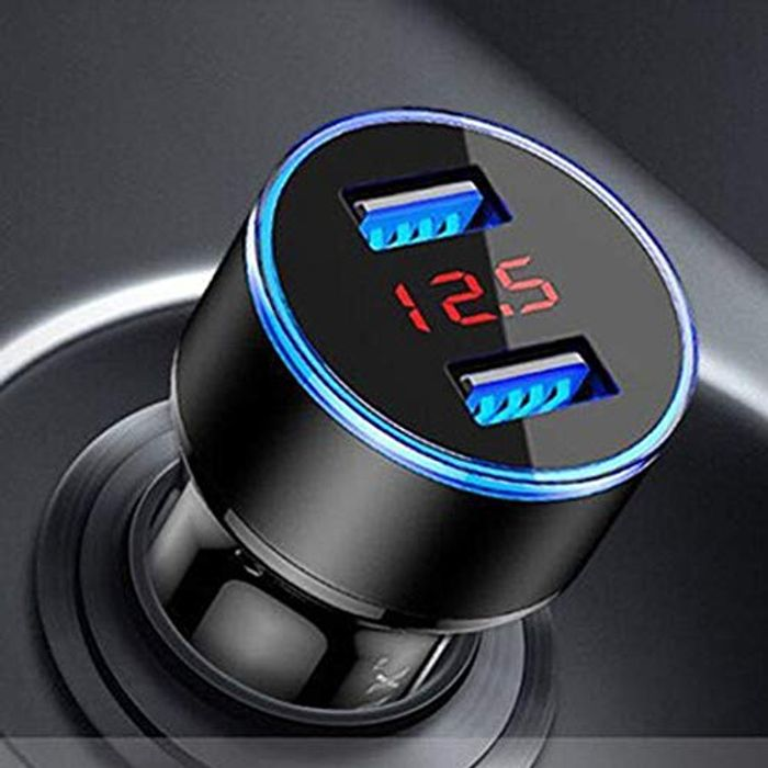 Car USB Dual Lighter & Charger