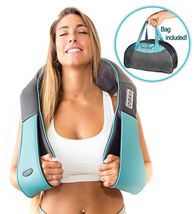 Shiatsu Back Neck and Shoulder Massager with Heat