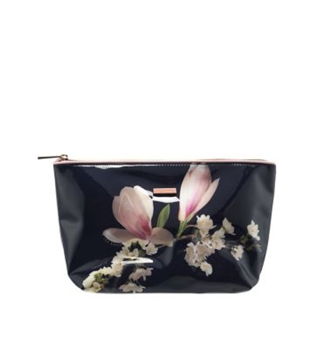 Ted Baker Ladies Large Cosmetic Bag PVC Autumn/Winter 18 at Boots