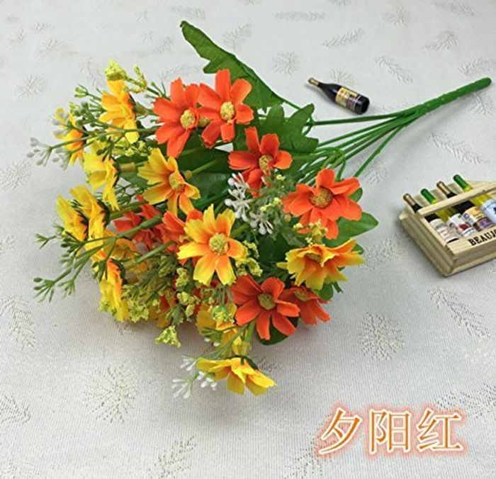 1 Bunch of Cineraria Artificial Flower Bouquet