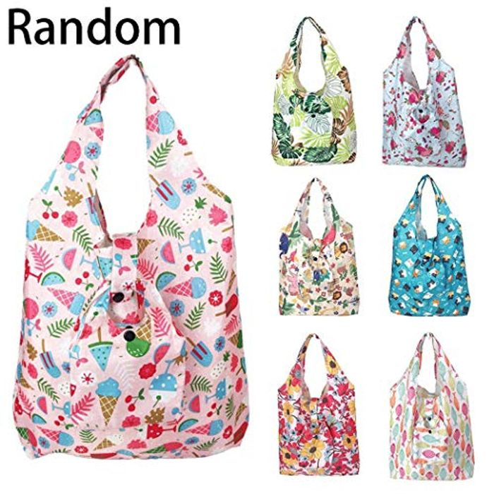 2PCS Reusable Shopping Bag 80% off + Free Delivery