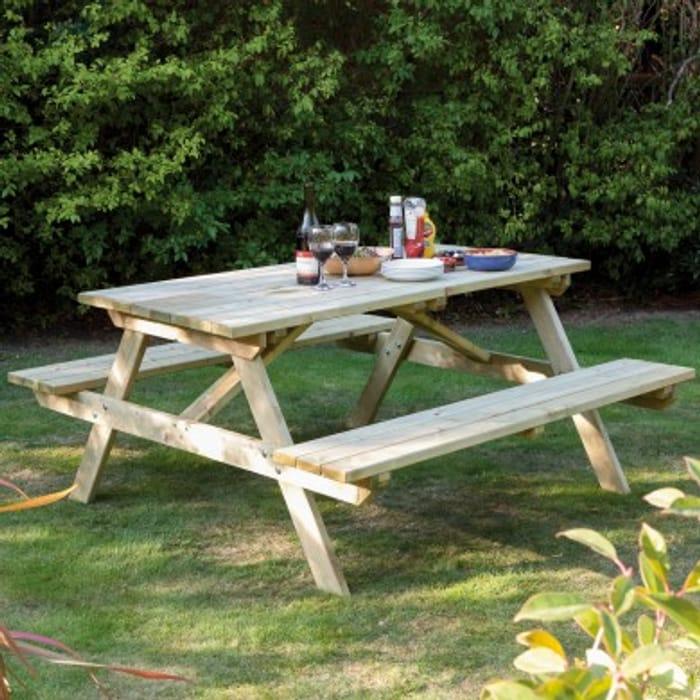 Rowlinson Garden Picnic Bench