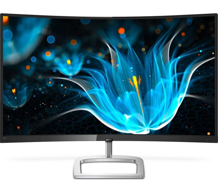 "PHILIPS Full HD 31.5"" Curved LED Monitor - Black"
