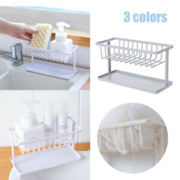 Double Shelve Sponge/soap Holder