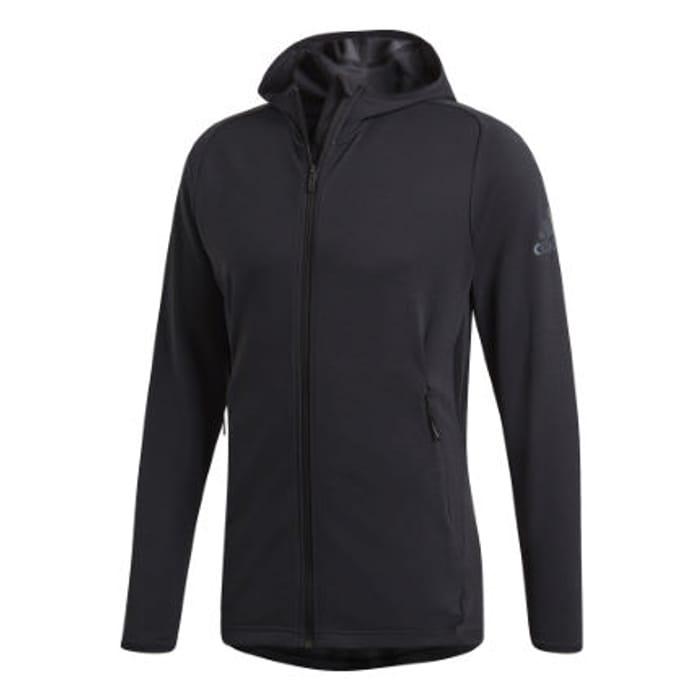 Adidas Freelift Tech Cool Training Hoodie - Carbon/Black