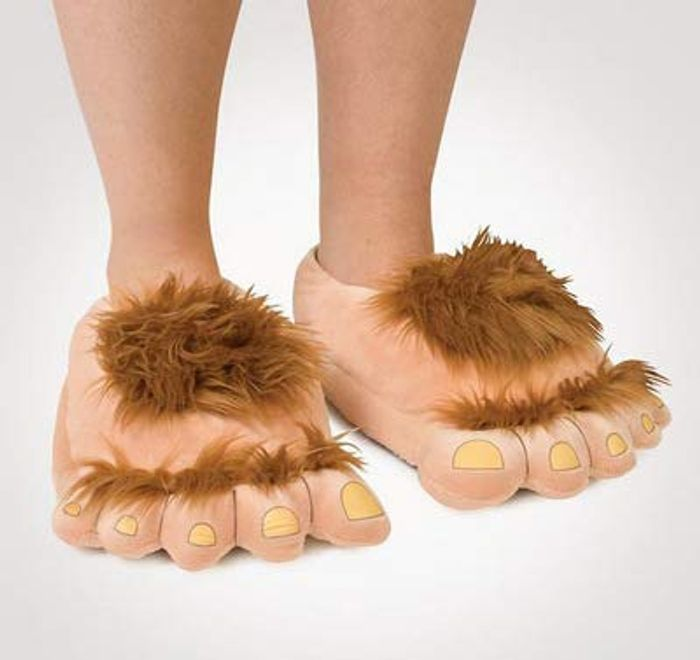 Hobbit Feet Slippers (Or Bigfoot or Monster Feet)