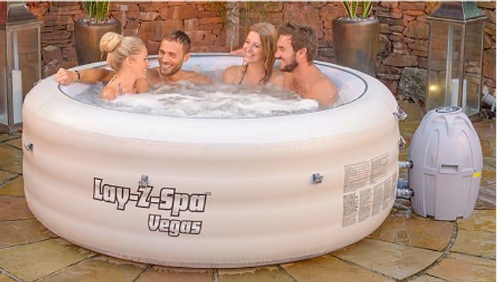 Lay-Z-Spa Vegas Airjet 4-6 Person Hot Tub