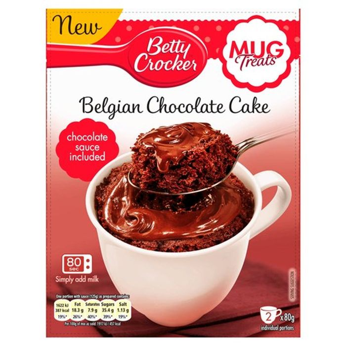 Betty Crocker Mug Treats via Shopmium