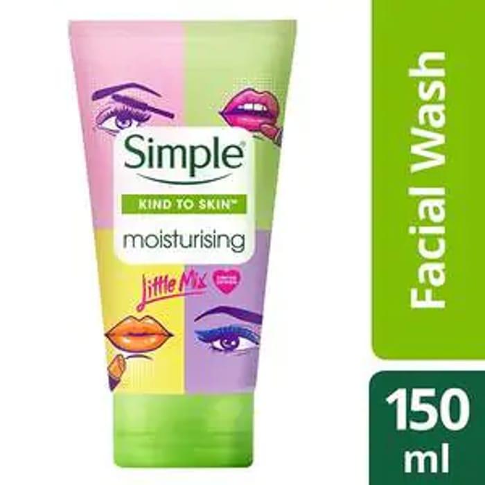 Simple X Little Mix Moisturising Facial Wash 150ml