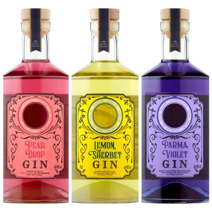 Extra Special 40% Gins - Sherbert Lemon, Pear Drop & Parma Violet £18 Each