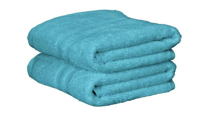 Argos Home Pair of Hand Towels in 10 Colours - HALF PRICE