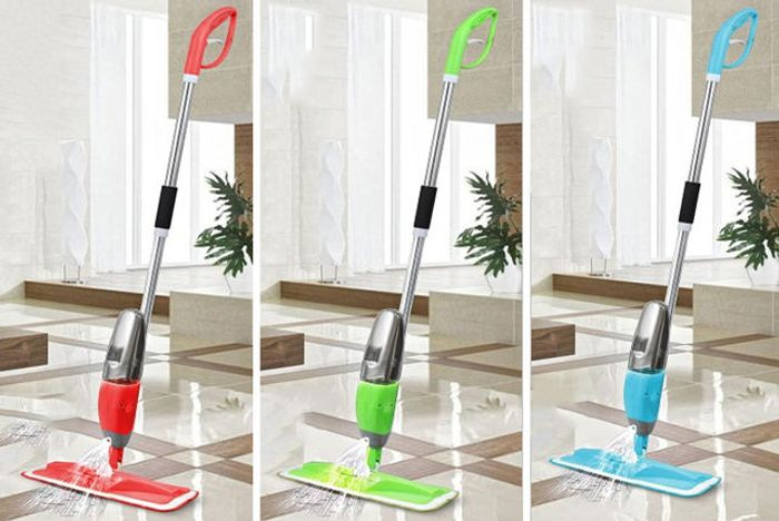 Spray Mop and 3 Cloths