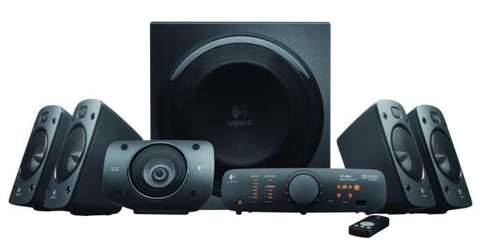 Logitech Z906 Surround Sound 5.1 Speaker System