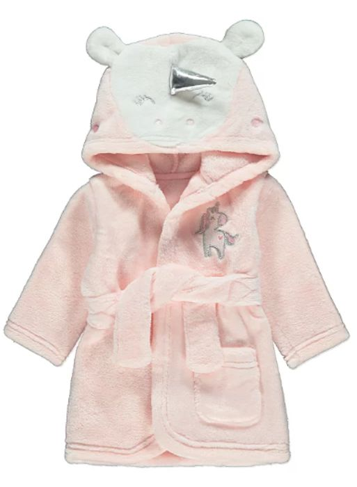 Unicorn Hooded Dressing Gown