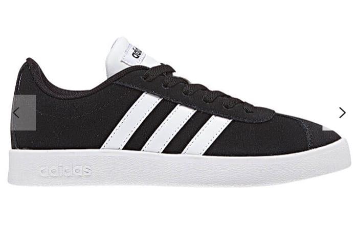 Adidas Children's VL Court 2.0 Trainers, Black