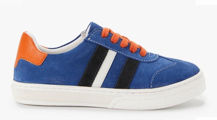 John Lewis & Partners Children's Jack Trainers, Blue