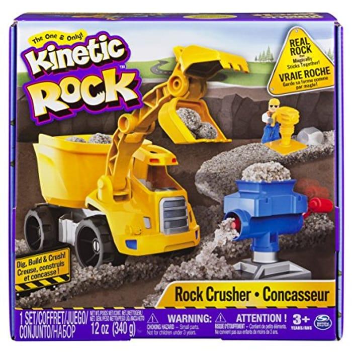 Kinetic Sand Rock Crusher Play Set