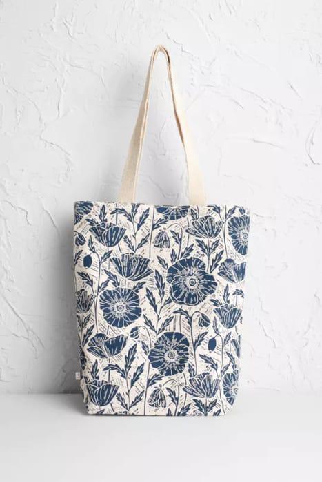 Lino Poppies Dark Night Canvas Shopper - SAVE £3.00