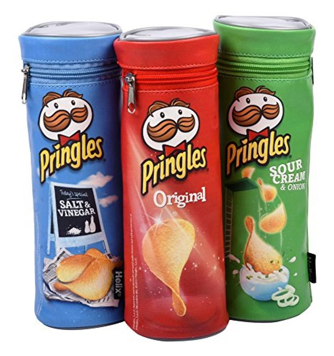 Helix Pringles Pencil Case (Random Colours)