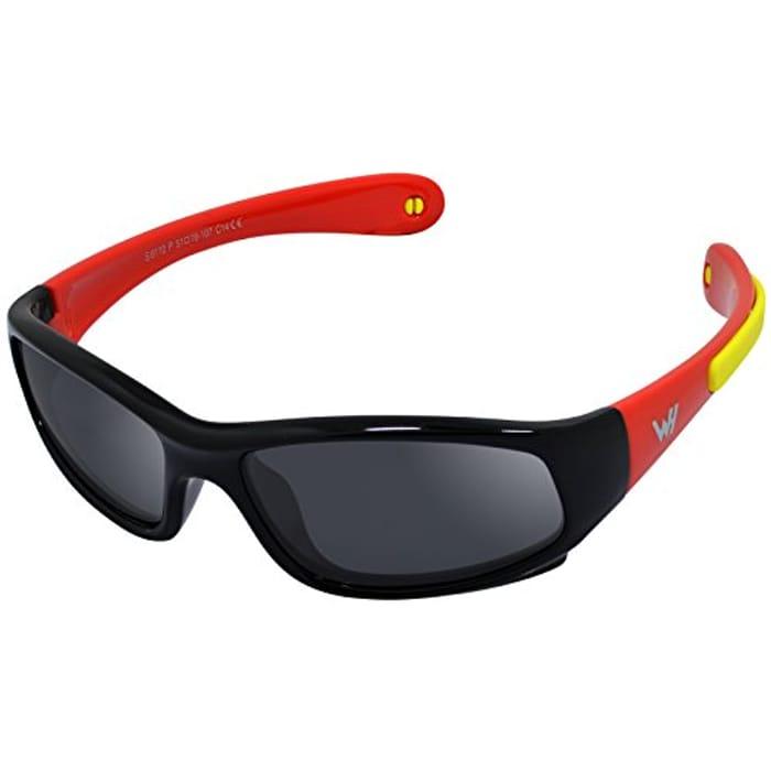 Kids Wrap Sport Polarized Sunglasses