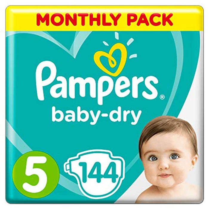 Pampers Size 5 Monthly Pack - Almost HALF PRICE!