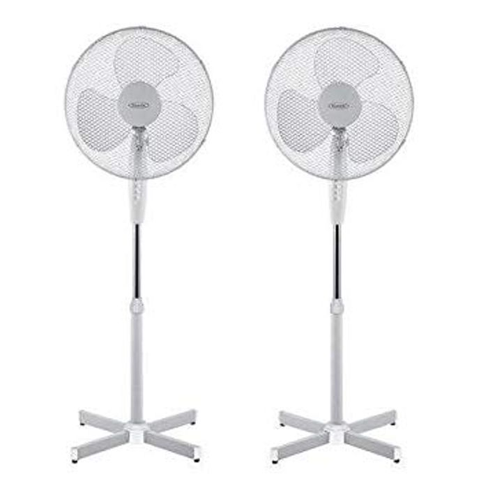 2 Fans in Time for the Warm Weather