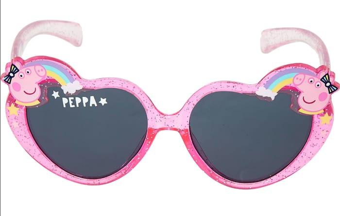 Peppa Pig Pink Glitter Loveheart Sunglasses 3 At Tk Maxx