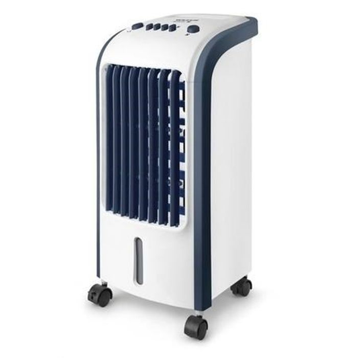 Evaporative Air Cooler with Builtin Air Purifier and Humidifier 2 Free Ice Packs