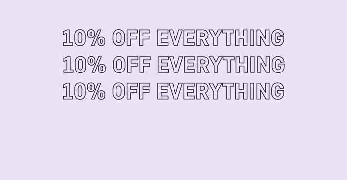 10% off at Trouva