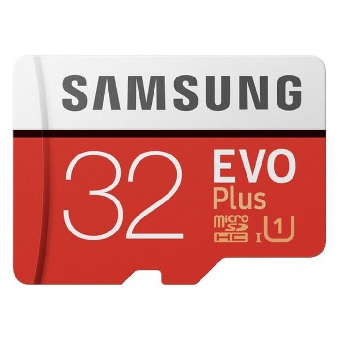 Samsung Evo plus 80MBs SDHC 32GB Memory Card