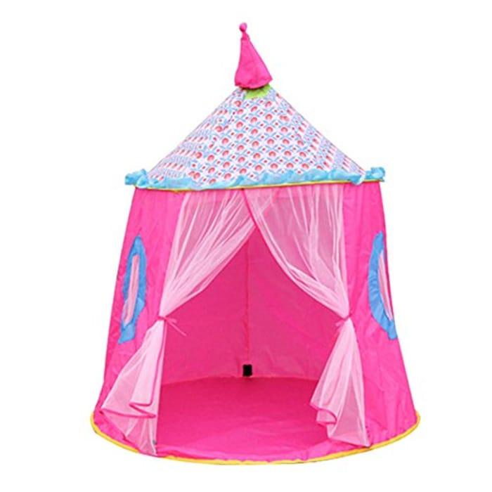 Kids Princess Play House Castle Tent