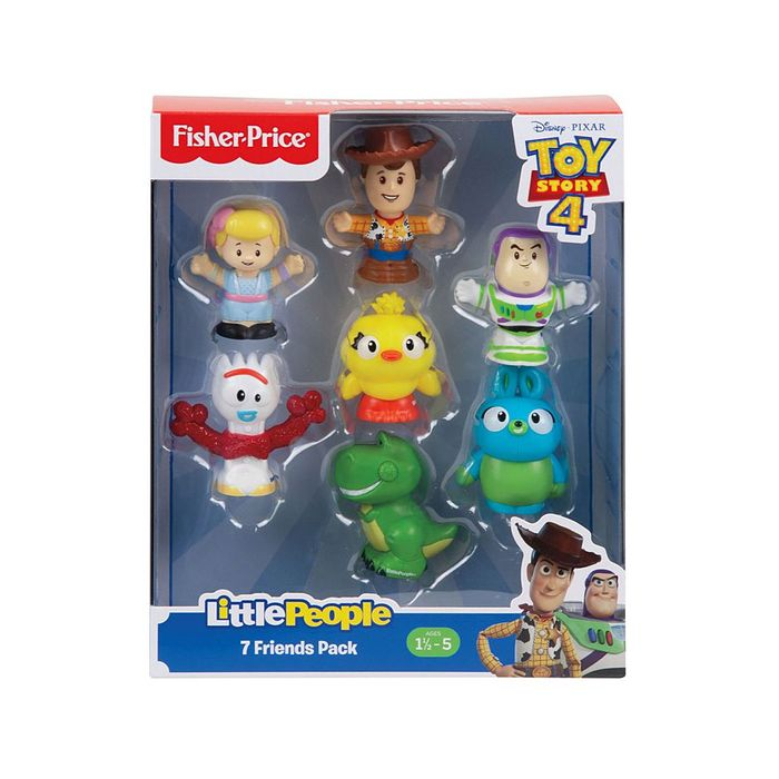 NEW! Fisher Price Little People 'TOY STORY 4' - 7 Friends Pack