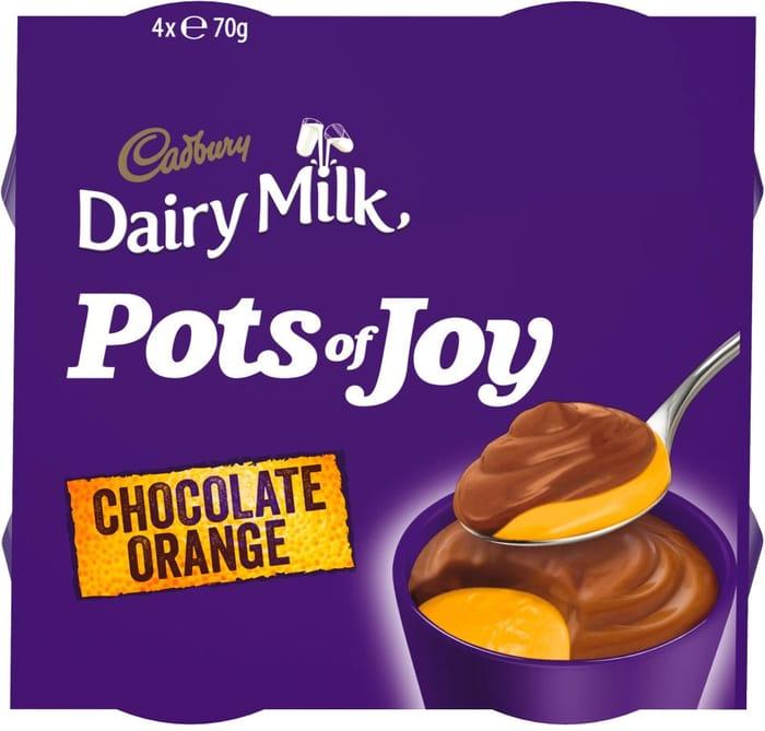 Cadbury Dairy Milk Pots of Joy Chocolate Orange
